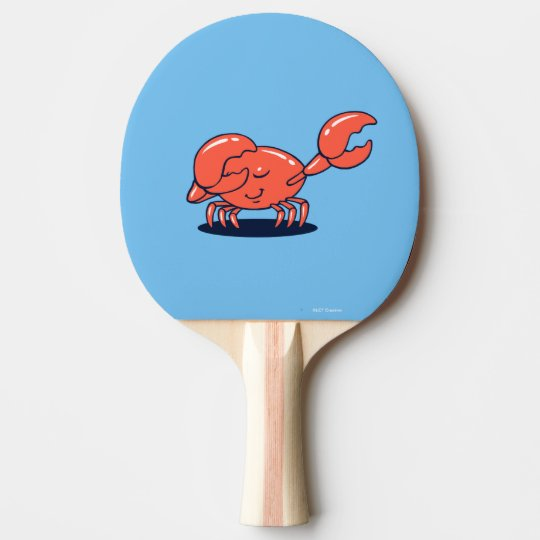 Crab Doing The Dab Ping Pong Paddle