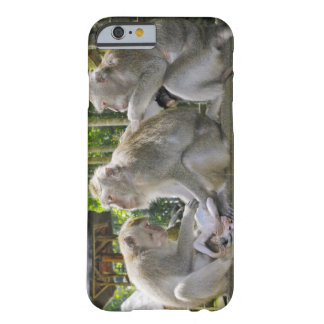 Crab-eating Macaque, Macaca fasciularis, in Ubud Barely There iPhone 6 Case