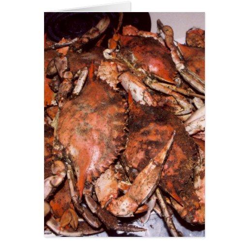Crab Feast Card
