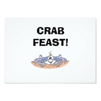 Crab Feast Invitations