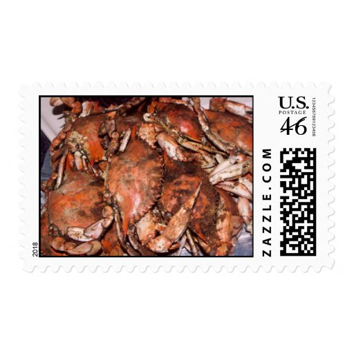 Crab Feast Postage Stamps
