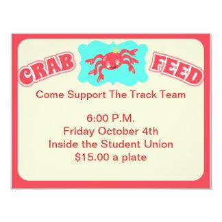Crab Feed Invite