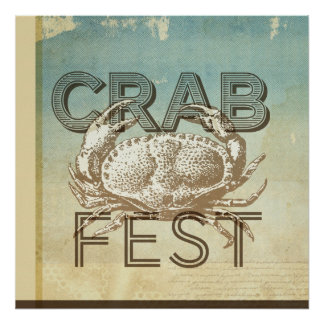 Crab Fest Print