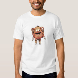 Crab front, Old Style back T-shirt