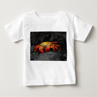 Crab Grapsus Grapsus From The Galapagos Islands Baby T-Shirt