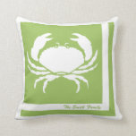 Crab Image Personalized American MoJo Pillow
