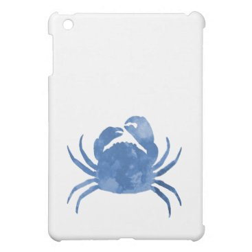 Beach Themed Crab iPad Mini Cases