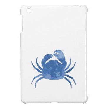 Beach Themed Crab iPad Mini Cover