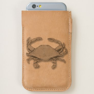 nautical_gifts Crab iPhone 6/6S Case