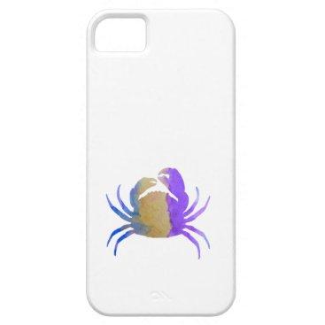 Beach Themed Crab iPhone SE/5/5s Case