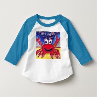 Crab Kids shirt Catalina Tile design