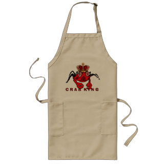 Crab King Long Apron