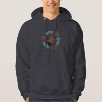 Crab-Knot Cycle Men's Basic Hooded Sweatshirt