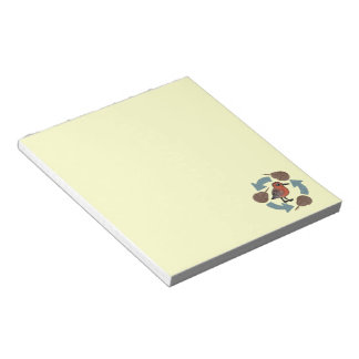 Crab-Knot Cycle Memo Note Pads