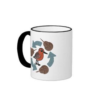 Crab-Knot Cycle Coffee Mug