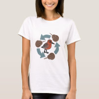 Crab-Knot Cycle Women's Basic T-Shirt
