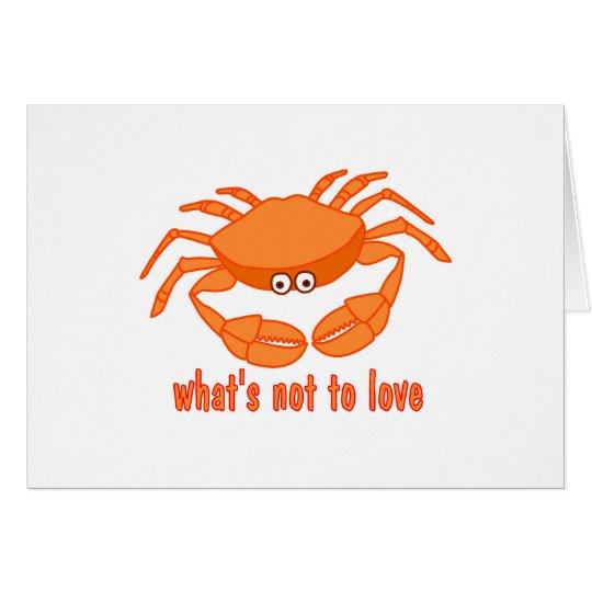 Crab Love Card