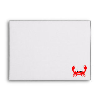 Crab Lover Envelope