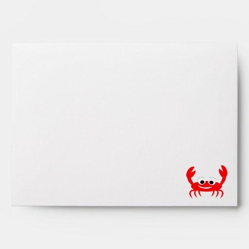 Crab Lover Envelope Envelope