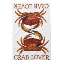 Crab Lover Towel