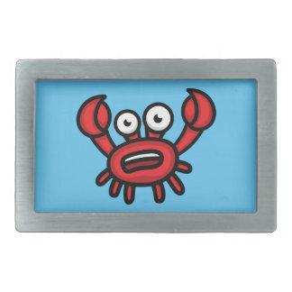 Crab Luigi Rectangular Belt Buckle