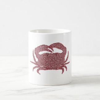 Crab Made of Circles Coffee Mug
