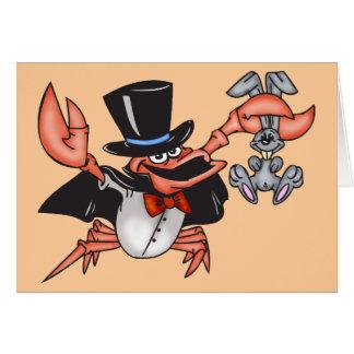 Crab Magician Card