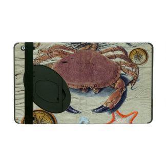 Crab Map iPad Cover