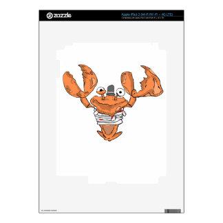 Crab Monster love iPad 3 Skin
