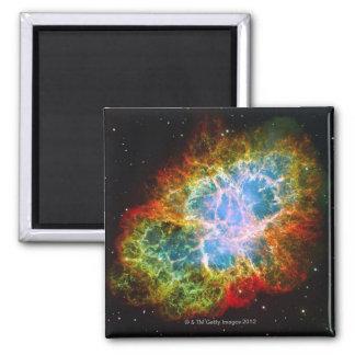 Crab Nebula 2 Inch Square Magnet