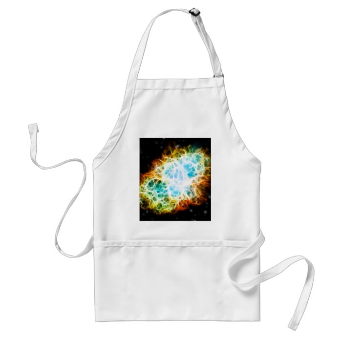 Crab Nebula Adult Apron