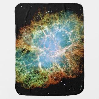 Crab Nebula Baby Blanket