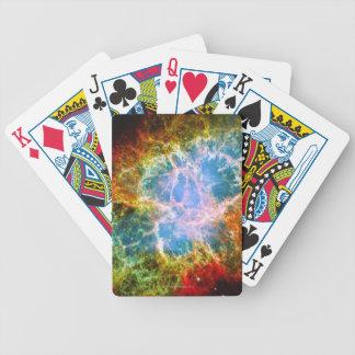 Crab Nebula Bicycle Playing Cards