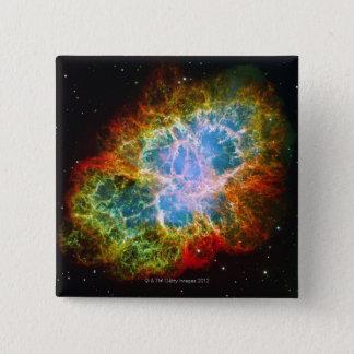 Crab Nebula Button