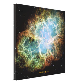 Crab Nebula Canvas Print