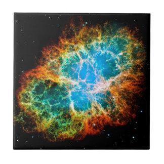Crab Nebula Ceramic Tile