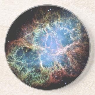Crab Nebula Drink Coaster