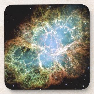 Crab Nebula Drink Coasters
