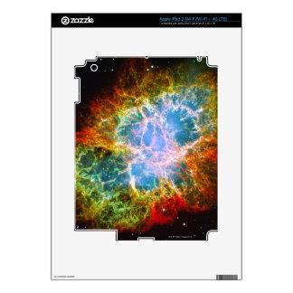 Crab Nebula Decal For iPad 3
