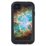 Crab Nebula Hubble Space iPhone4 Case