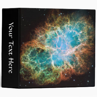 Crab Nebula – Hubble Telescope Vinyl Binder