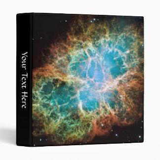 Crab Nebula – Hubble Telescope Vinyl Binders