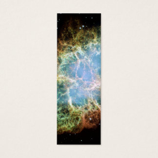 Crab Nebula – Hubble Telescope Mini Business Card
