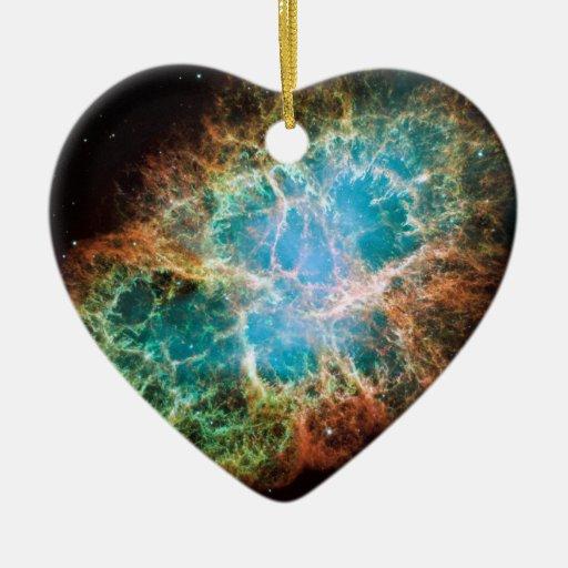 Crab Nebula – Hubble Telescope Christmas Tree Ornament
