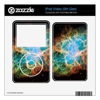 Crab Nebula – Hubble Telescope iPod Video 5G Skin