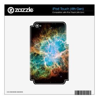 Crab Nebula – Hubble Telescope iPod Touch 4G Decal