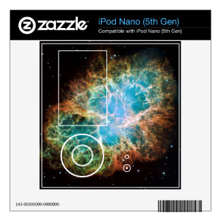 Crab Nebula – Hubble Telescope iPod Nano Decal