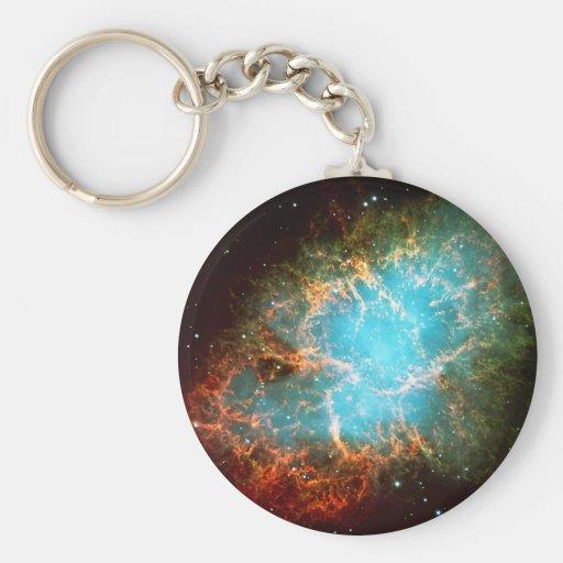 Crab Nebula in Taurus - Breathtaking Universe Keychain