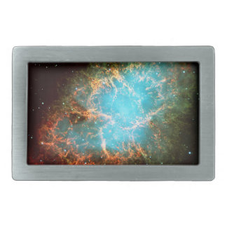 Crab Nebula in Taurus - Breathtaking Universe Rectangular Belt Buckle