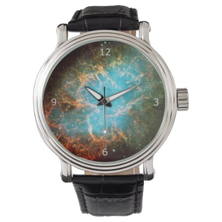 Crab Nebula in Taurus - outer space picture Wristwatches